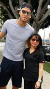 Claire and Blake Griffin